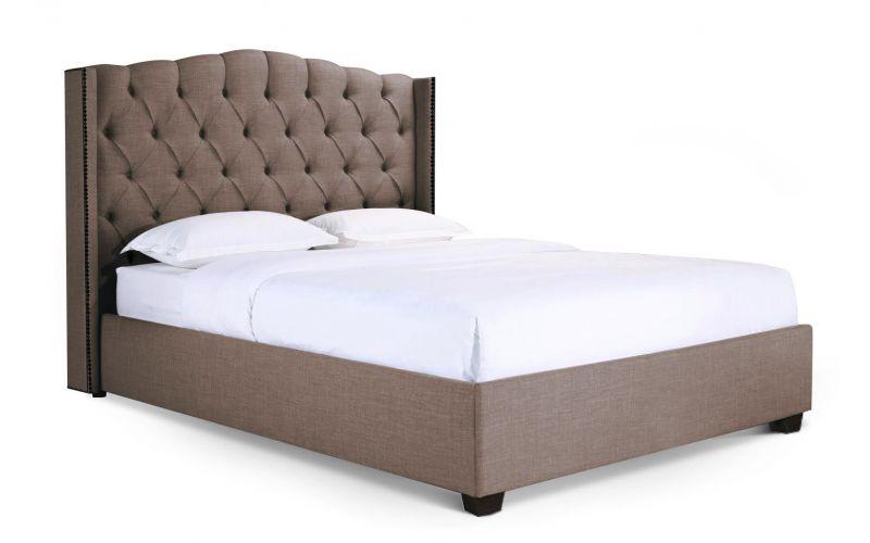 Newport upholstered bed frame for Exotic bed frames