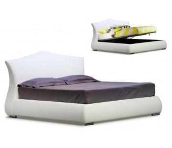 Paris Upholstered Gas Lift Bed Frame