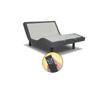 Reverie 3E Essential Wireless Adjustable Base - Charcoal