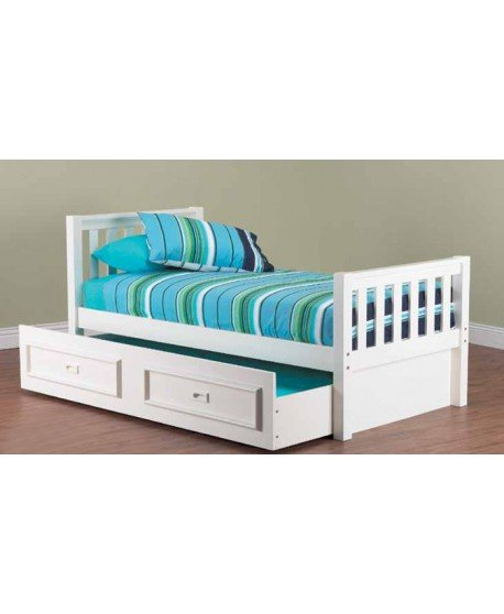 Sussex Timber Trundle Bed