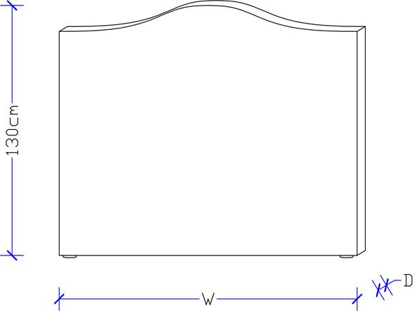 Artisan Bed Head - Custom Design