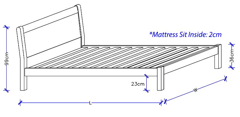 Timber Bed Frame Sydney