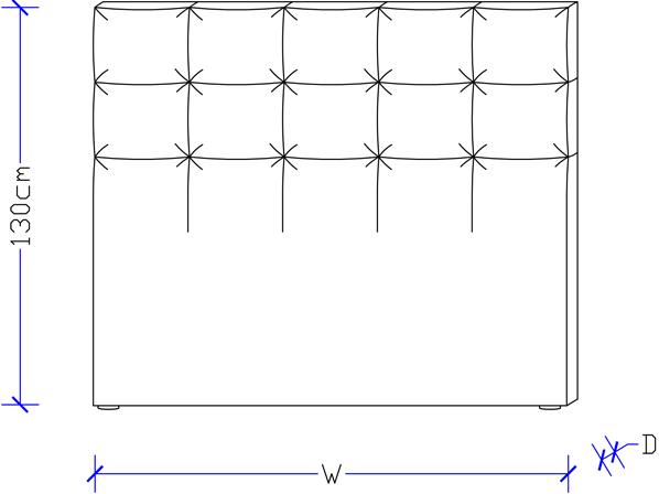 Designer Bedheads -  Upholstered Bed Head