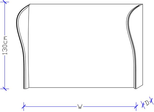 Designer Bed Heads - Custom Made