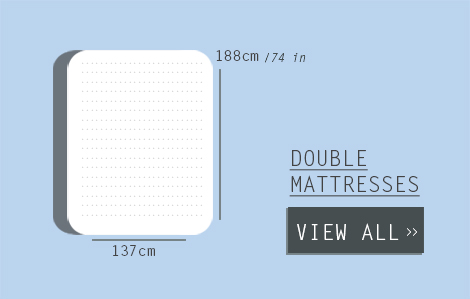 Double Mattress Size - Australian Standard