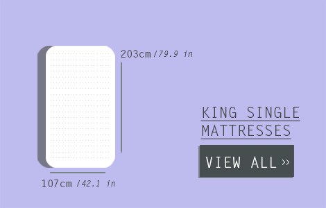 Single Mattress Size -  Australian Standard