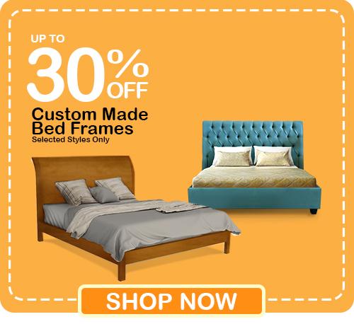 Pre-Christmas Super Deals - Get up to 30% OFF Custom Made Beds!
