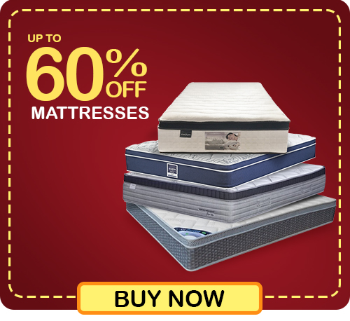 Pre-Christmas Super Deals - Get up to 60% OFF wide range of mattresses in-stock