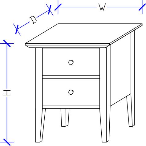 Hand Made Bedside Table BedWorks Sydney