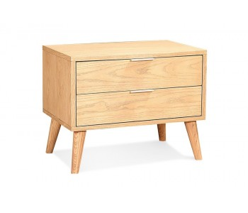 Ron Timber Bedside Table