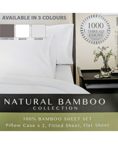 Royal Comfort 1000TC Natural Bamboo Collection