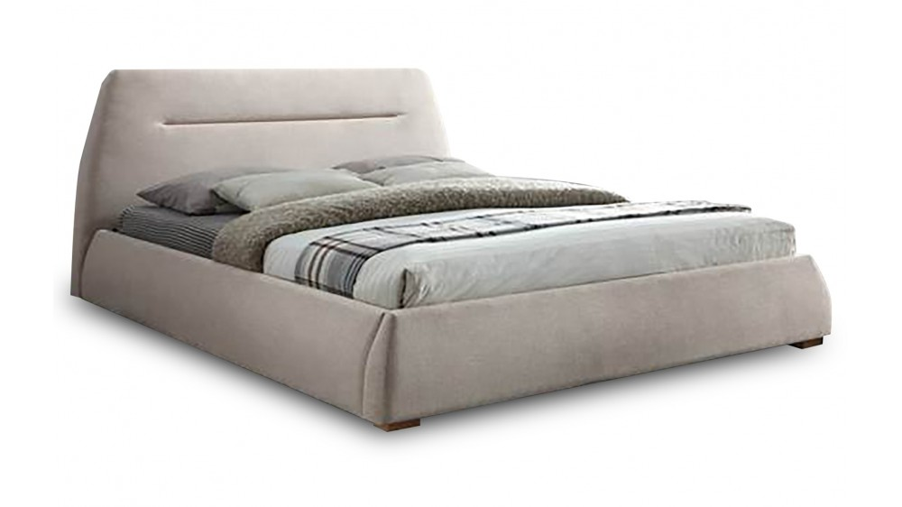 Milan II J Queen Upholstered Bed Frame