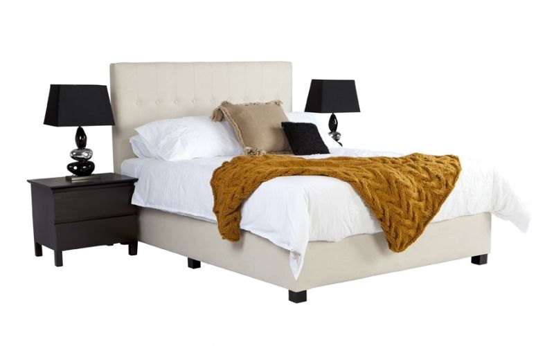 9f3c61b6e1ec Mega Custom Upholstered Bed with Choice of Bases