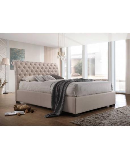Crystal Upholstered Bed Frame