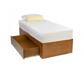 Tropez Kids Custom Timber Day Bed With Storage