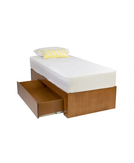 Tropez Child's Custom Timber Day Bed With Storage