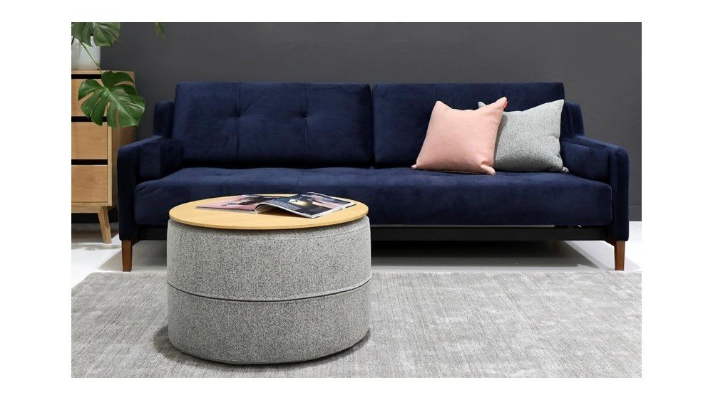 Hermod Deluxe Sofa Bed With Arms - Innovation Living