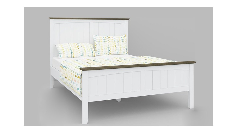 Brittany Timber Wooden Bed - Suite Options