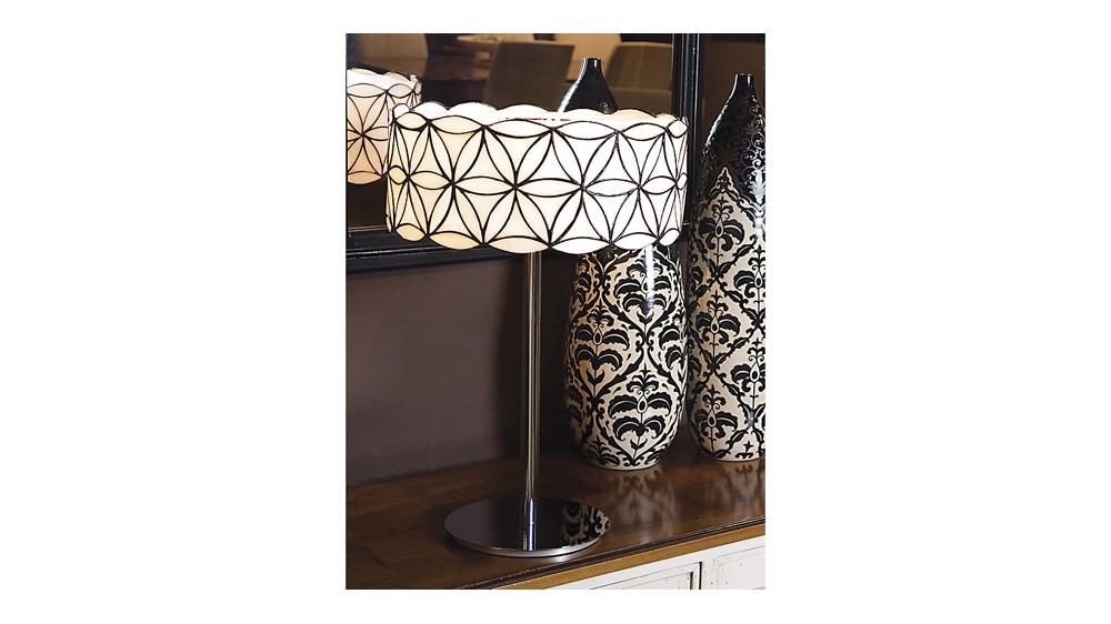 Savina Art Glass Table Lamp