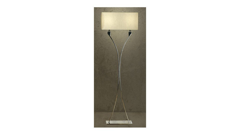 Zimmer 2 Light Floor Lamp