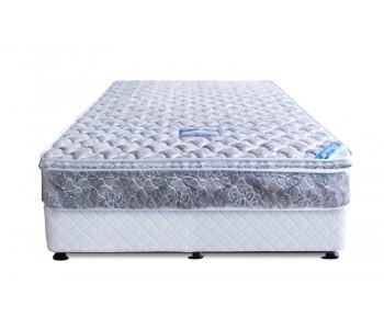 OP Deluxe Pillow Top Mattress + Sleepeezee Ensemble Base