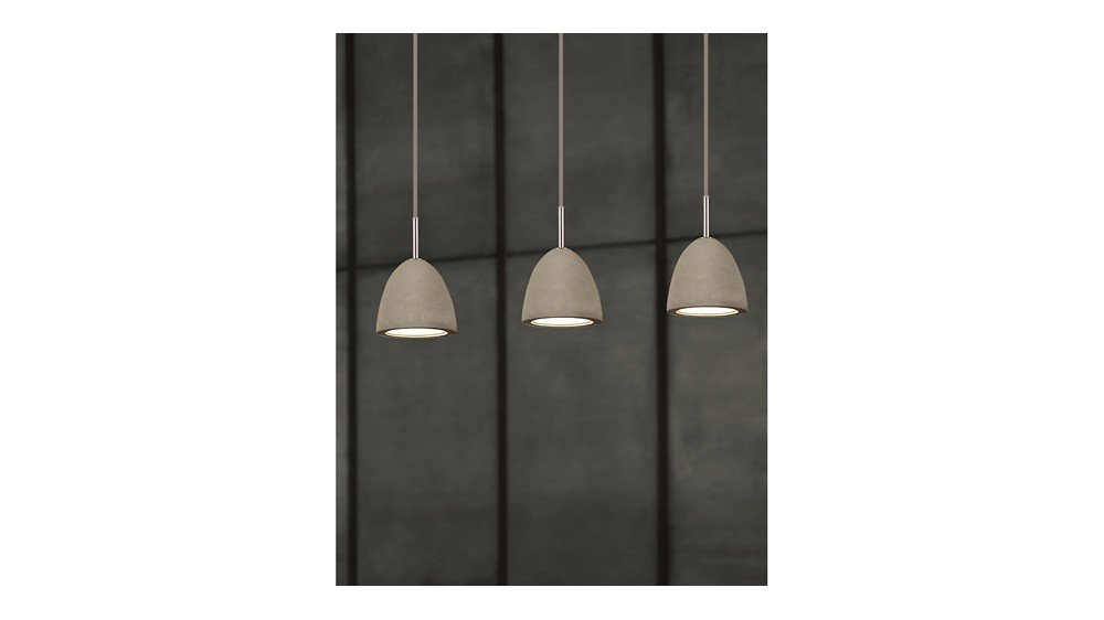 Small Concrete Pendant Lamp