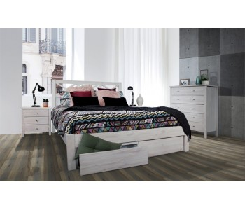 Yarra Timber Storage Bed Frame