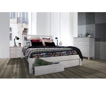 Yarra Timber Storage Bed Frame