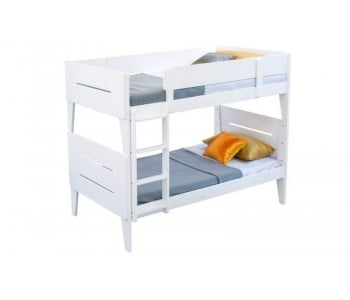 Castle White Bunk Bed