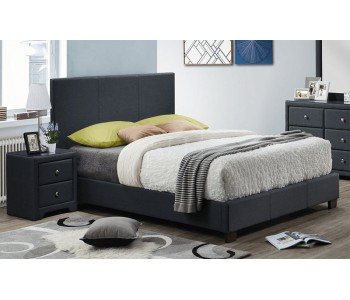 Domino Upholstered Bed Frame - Suite Options