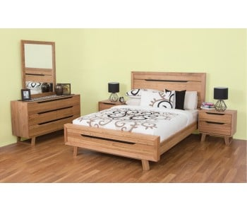 Lismore Timber  Bed Frame  - Suite Options