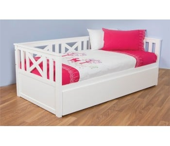 Madeleine Wooden Timber Day Bed