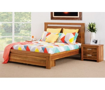 Waratah Storage Timber Bed Frame  - Suite Option