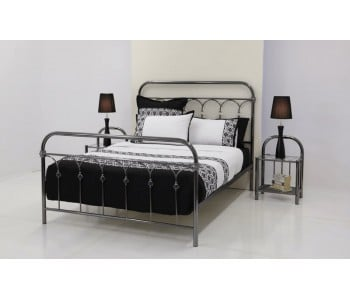 Crystal Metal Bed Frame  - Suite Option
