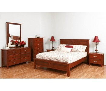 Darwin Timber Bed Frame  - Suite Option