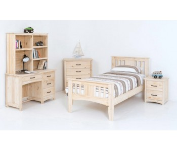 Byron Kids Timber Bed Frame - Suite Option