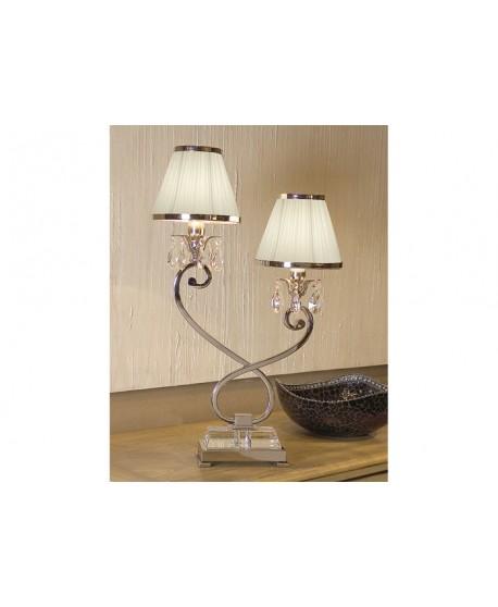 Luxuria 2 Light Table Lamp