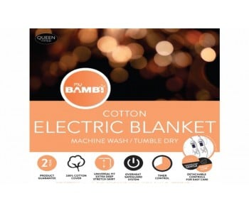 Moodmaker Cotton Electric Blankets