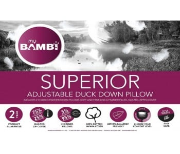 Superior Feather & Down Pillow