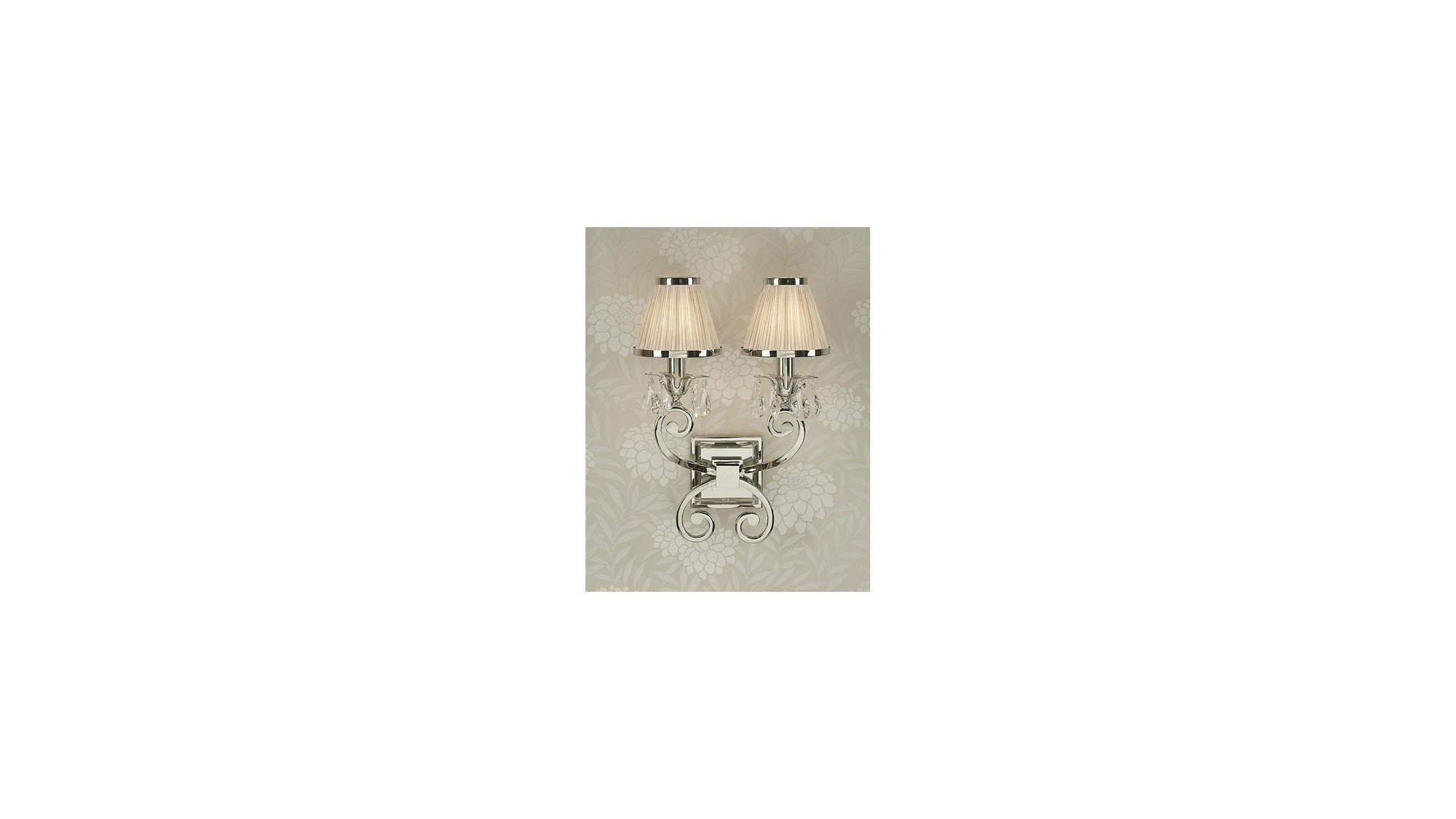 Luxuria 2 Light Wall Lamp