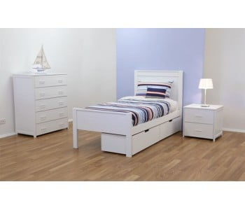 Cologne Timber Bed Frame - Suite Option