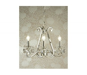 Luxuria 3 Light No Shade Chandelier