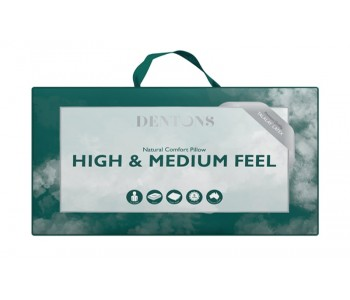 Dentons High & Medium Feel pillow