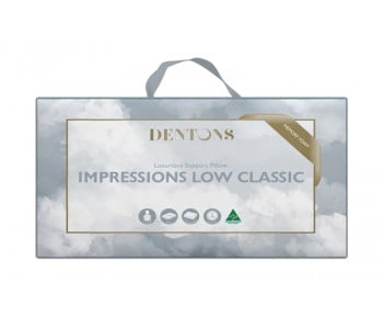 Dentons Impressions Low Classic Pillow