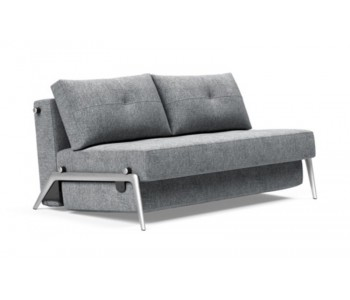 Cubed 90/140/160 Sofa Bed with Alu Leg - Innovation Living