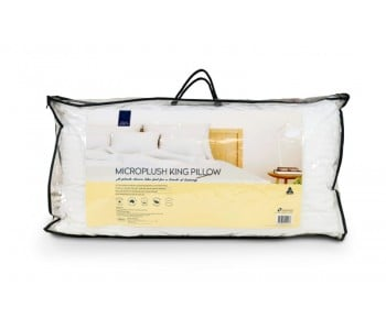 CLOUD SUPPORT MICROPLUSH KING SIZE PILLOW