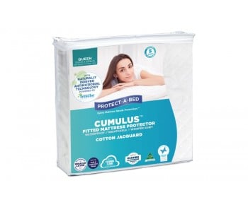Protect-A-Bed Cumulus Fitted Waterproof Mattress Protector