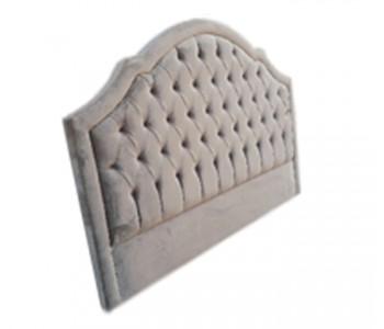 Flo Custom Tufted Fabric Bed Head