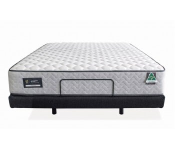 Enliven Electric Adjustable Base With Domino Victoria Mattress - AH Beard