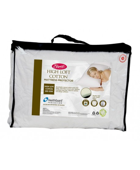 Mattress Protector High Loft Cotton Fully Fitted